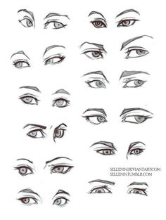 Image result for different types of eyes to draw