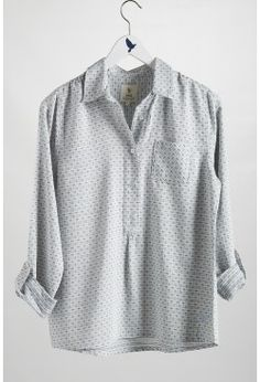 THE PULL ON SHIRT  w/ men's shirt
