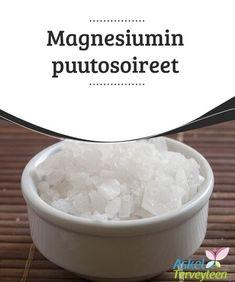 Magnesiumin puutosoireet Tämä ongelma - magnesiumin puute - jää usein #huomaamatta, koska magnesium ei yleensä näy #verikokeissa. Vain yksi prosentti elimistön tarvitsemasta ja käyttämästä #magnesiumista on varastoitunut vereen. #Kauneus