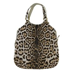 Yves Saint Laurent Tribute Leopard Tote Bag | From a collection of rare vintage handbags and purses at http://www.1stdibs.com/fashion/accessories/handbags-purses/