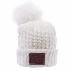 cccb28e3fc1 Beanie - White Pom Beanie (White Pom) Love Your Melon Hats