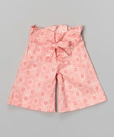 Look what I found on #zulily! Nairobi Floral Wide-Leg Pants - Infant, Toddler & Girls by with love from africa by kate quinn organics #zulilyfinds