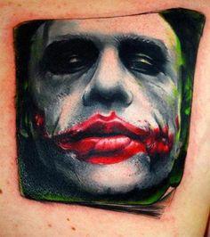 <3 heath ledger tattoo