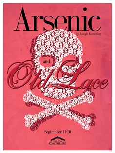 South Bend Civic Poster: Arsenic and Old Lace | Flickr - Photo Sharing!