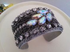Hey, I found this really awesome Etsy listing at https://www.etsy.com/listing/252587236/cuff-braclet-with-rhinestones-and-chain