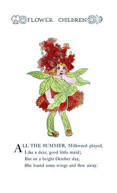Flower Children By Elizabeth Gordon Vintage Reproduction Photo Print No # 65 of 84 by A4Printsuk on Etsy