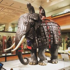 The only #battle #elephant #armour on public display anywhere in the world is at The Royal Armouries in #Leeds. #history #display #art #education #war #peace #India #Indian #tusks #weapon #edutainment #culture #entsleeds #travel #tourism #tourist #IgersLeeds #Yorkshire #England