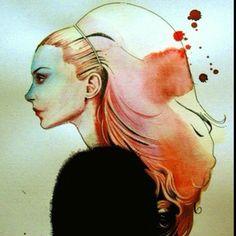By Olga Noes. This is my hair fantasy.