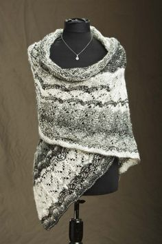 First Snow Evening Wrap--currently knitting this