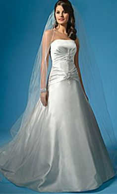 New With Tags Alfred Angelo Wedding Dress 2003 Size 20