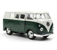 Volkswagen busje M groen
