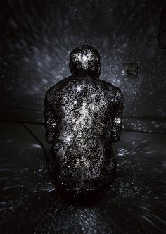 In Milky Way - Breath, artist Mihoko Ogaki takes the mystery of the night sky and combines it with sculptures of the human body
