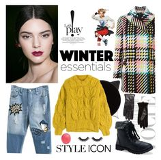 """""""What Are Your Winter Essentials?"""" by gorgeous-stacy ❤ liked on Polyvore featuring Marni, Aéropostale, Charlotte Olympia, Maison Margiela, MANGO, Eos, winteressentials and winter2015"""