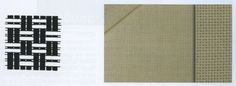 ESTERILLA. En catalán: estoreta, en inglés: basketweave. Es un tipo de ligamento derivado del tafetán. En su caso, dos o más hilos se tejen como uno solo en urdimbre y trama simultáneamente. Se emplea para vestidos de señora, camisas y tapicería. #basketweave