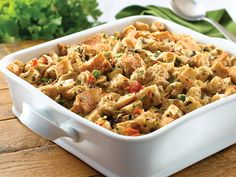 Do you have your holiday menu planned? Knorr Vegetable Soup Mix makes the stuffing a breeze. Stuffing Recipe Food Network, Stuffing Recipes, Roast Recipes, Food Network Recipes, Cooking Recipes, Savoury Recipes, Turkey Recipes, Dry Soup Mix, Stuffing Ingredients