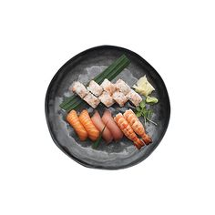 Selvfølgeligheder Duo Sticks'n'Sushi ❤ liked on Polyvore featuring food