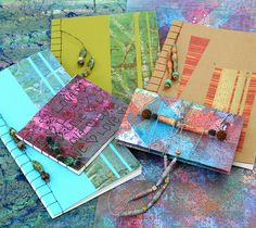 Books and Batik with Suzanne Hall and Barbara Bussolari