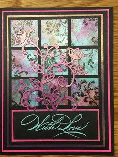 """Stampin Up stamp sets:  (new) """"Flourishing Phrases"""" bundle, current stamps set """"Timeless Textures"""", retired stamp set """"Hand Penned Holidays"""" and paint by Lumiere Metallic Acrylic. Card design Inspired by stampinstyledotcome  To order Flourishing Phrases stamp bundle: http://www.stampinup.com/ECWeb/ProductDetails.aspx?productID=142323&dbwsdemoid=2158591 To order Timeless Textures: http://www.stampinup.com/ECWeb/ProductDetails.aspx?productID=140517&dbwsdemoid=2158591"""