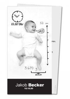 Geburtskarte│ Planet-cards.de