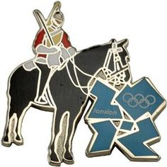 Price: $8.95 - Olympics London 2012 Olympics Mounted Royal Guard Pin - TO ORDER, CLICK THE PHOTO