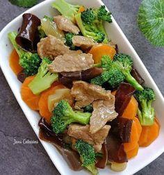 Mushroom Recipes, Vegetable Recipes, Meat Recipes, Asian Recipes, Cooking Recipes, Healthy Recipes, Ethnic Recipes, Recipe Details, Indonesian Food