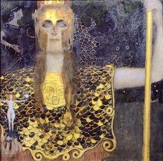 © Gustav Klimt - Pallade Atena (1898)