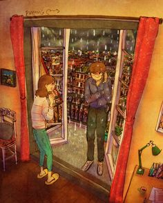 """When it was pouring rain and he called me saying """"open your window"""". I said """"why ??"""", he replied """"I'm cold..."""". When I opened my window he was standing on the roof in front of my window. He had climbed his way up there."""