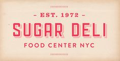 sugar deli food center nyc #logo