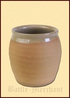High Middle Ages Cup from Clay, 0.5l
