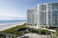 Oceanfront Wyndham SeaWatch Plantation in Myrtle Beach, SC <3 this place!!! {{Brandon and I stayed here when we went to Myrtle Beach in '06... awesome place.  I would LOVE to take the kids here someday... but it's SO hard to get into!!}}