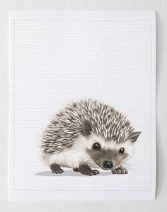 tips are available on our internet site. Hedgehog Art, Hedgehog Drawing, Baby Hedgehog, Hedgehog Tattoo, Animal Art Prints, Animal Paintings, Baby Animal Nursery, Baby Animals, Woodland Animals
