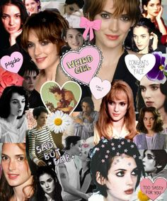 They say Winona is a weird girl. Duh---that's exactly what I love about her!