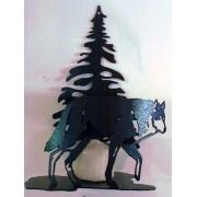 Wolf Tree Candle Holder