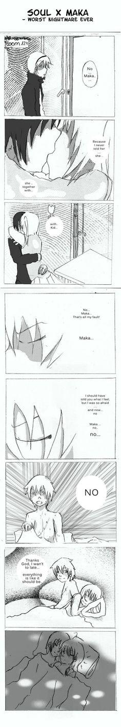 SE SoulxMaka Fancomic by edogori