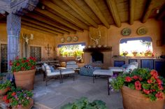 Santa Fe. We need to deepen our patio.