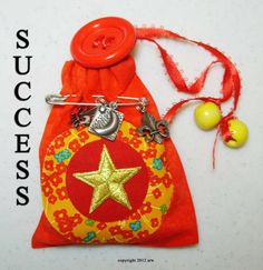 How to Make the Traditional Style No-Sew Magickal Bag for Success