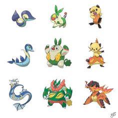 Type Swapped Pokemon. - Imgur