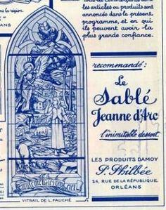 Pour accompagner le café Jeanne d'Arc, le sablé du même nom ! Archives d'Orléans
