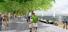 West 8 Urban Design & Landscape Architecture / projects / Toronto Central Waterfront