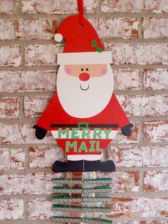 Santa Claus Merry Mail Christmas Card by PurplePirateStudios
