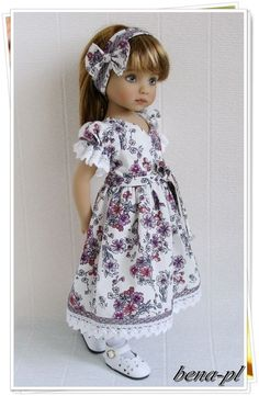"bena-pl Clothes for Effner Little Darling 13"", Betsy McCall 14"" Outfit"