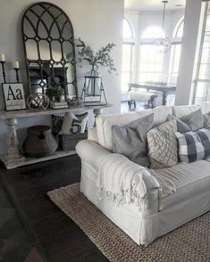 Modern Farmhouse Living Room Decor Ideas 02