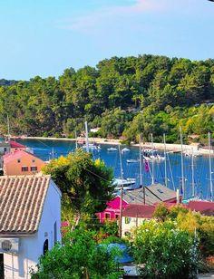 Gaios, Paxos Island, Ionian Sea, West Coast, Greece https://www.mydestinationgreekislands.com