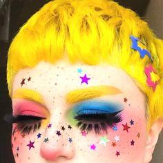 Edgy Makeup, Cute Makeup, Pretty Makeup, Makeup Inspo, Makeup Art, Makeup Inspiration, Hair Makeup, Makeup Ideas, Fox Makeup