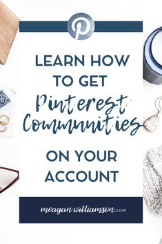Interested in Pinterest Communities? Learn how to get Pinterest Communities on your own account - this blog post will tell you what they are, how you can use them for your business and how to get started #PinterestforBusiness #PinterestMarketing #PinterestTips #GrowYourBusiness Marketing Plan, Online Marketing, Social Media Marketing, Le Web, Pinterest For Business, How To Get, How To Plan, Pinterest Marketing, Need To Know