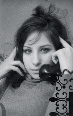 Young Barbra Streisand