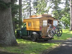 images of trucks with home made campers | homemade campers - Google Search | Truck Campers
