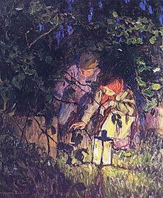 The Latern via Nikolay Bogdanov-Belsky https://artist-belsky.tumblr.com/post/161621331806/the-latern-via-nikolay-bogdanov-belsky by http://apple.co/2dnTlwE