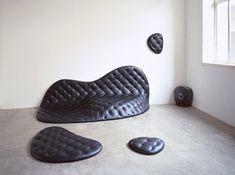 Leather furniture by designer Robert Stadler - Home Decoration
