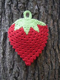 cute Strawberry Potholder